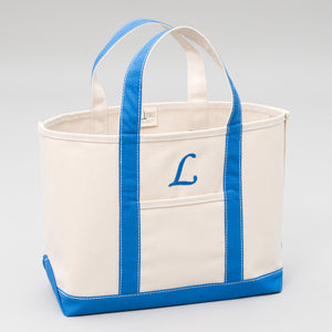 Classic Tote Bag - Chefchaouen Blue - Front