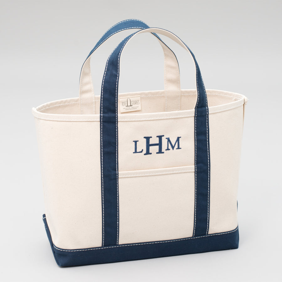 Classic Tote Bag - Falsterbo Ocean - Sizes