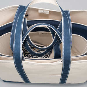 Classic Tote Bag - Falsterbo Ocean - Stack