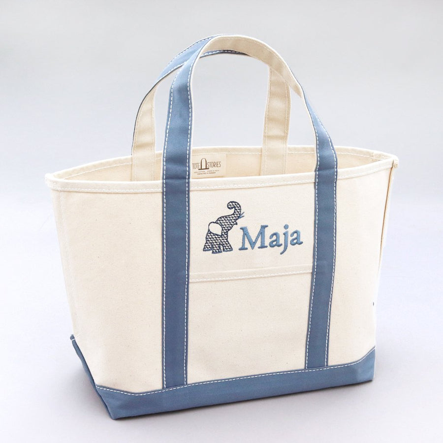 Classic Tote Bag - Falsterbo Sky - Sizes