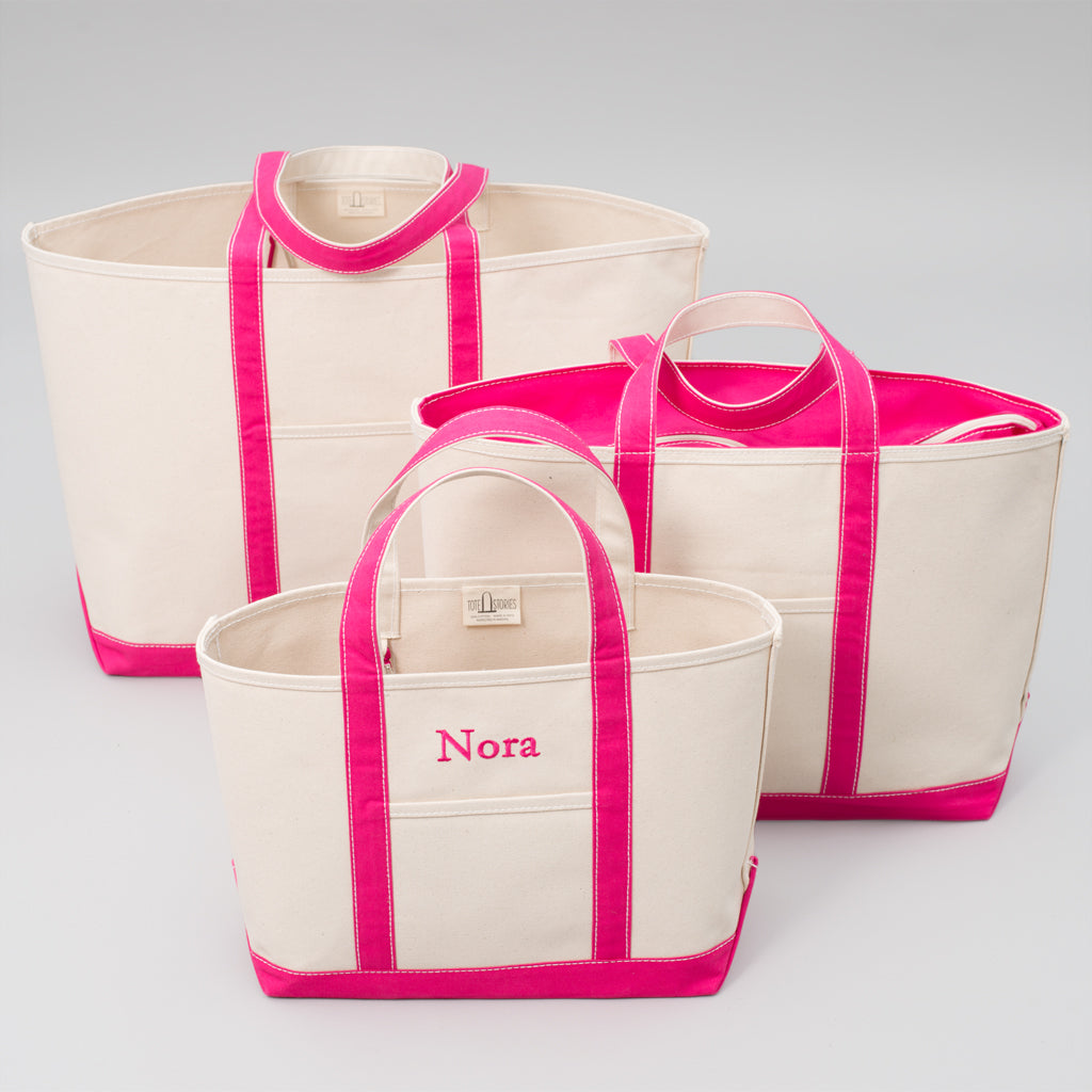 Classic Tote Bag - Jaipur Pink - Sizes
