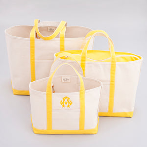 Classic Tote Bag - Lisbon Yellow - Sizes