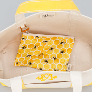 Classic Tote Bag - Lisbon Yellow - Inside