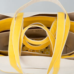 Classic Tote Bag - Lisbon Yellow - Stack