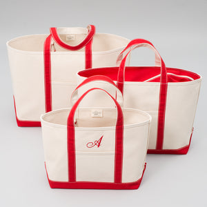 Classic Tote Bag - London Red - Sizes