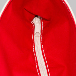 Classic Tote Bag - London Red - Zip