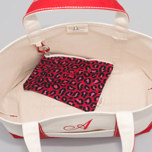Classic Tote Bag - London Red - Inside