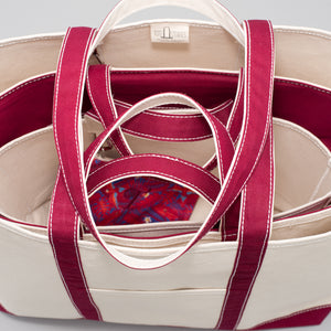 Classic Tote Bag - Rioja Wine - Stack