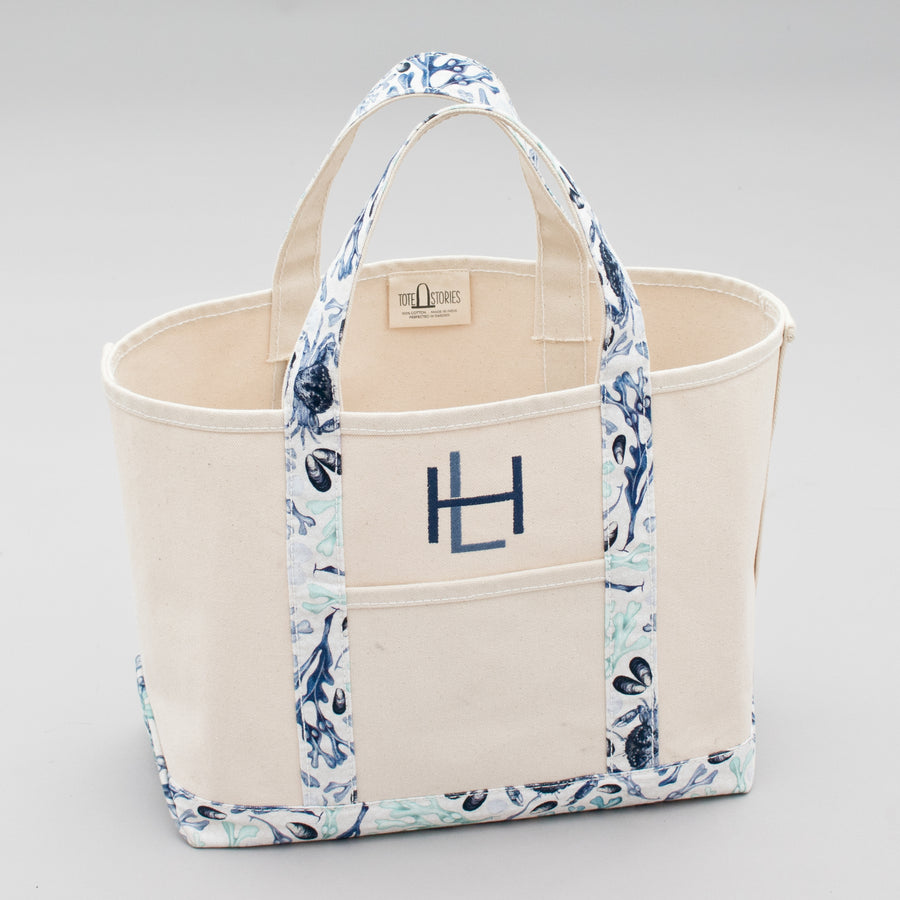 Limited Tote Bag - Beach Falsterbo Ocean - Sizes
