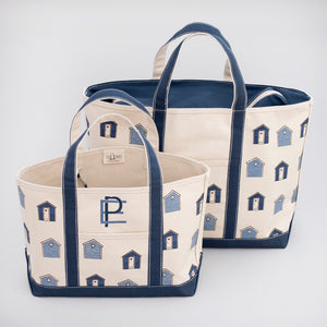 Limited Tote Bag - Beach Huts - Sizes