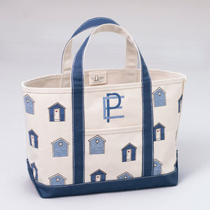 Limited Tote Bag - Beach Huts - Front