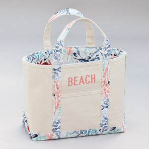 Limited Tote Bag - Beach Skanor Sunset - Front