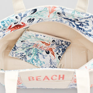 Limited Tote Bag - Beach Skanor Sunset - In