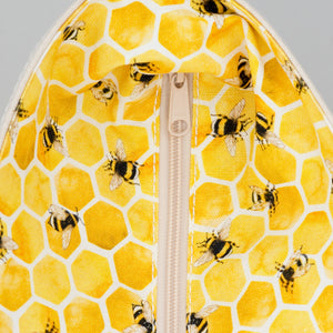 Limited Tote Bag - Bee Lisbon Yellow - Zip