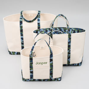 Limited Tote Bag - Camo Falsterbo Ocean - Sizes