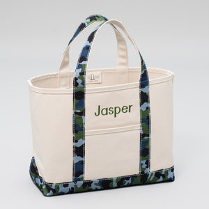 Limited Tote Bag - Camo Falsterbo Ocean - Front