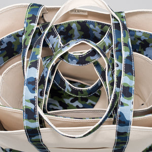 Limited Tote Bag - Camo Falsterbo Ocean - Stack