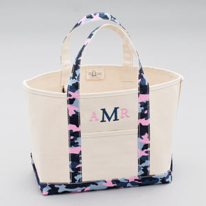 Limited Tote Bag - Camo Falsterbo Sky - Front