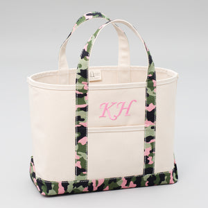 Limited Tote Bag - Camo Stockholm Blossom - Front
