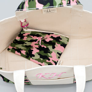 Limited Tote Bag - Camo Stockholm Blossom - Inside