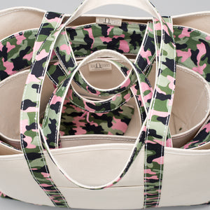 Limited Tote Bag - Camo Stockholm Blossom - Stack