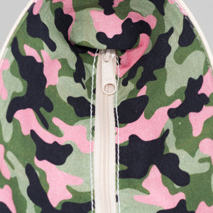 Limited Tote Bag - Camo Stockholm Blossom - Zip