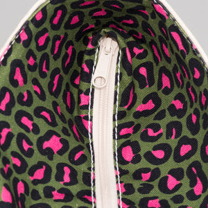 Limited Tote Bag - Leopard Hamneda Forest - Zip