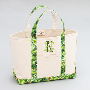 Limited Tote Bag - Palm Kradan Coconut - Front