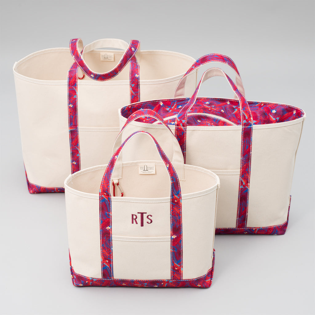Limited Tote Bag - Palm London Red - Sizes