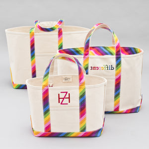 Limited Tote Bag - Rainbow - Sizes