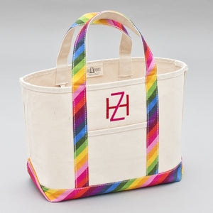 Limited Tote Bag - Rainbow - Front
