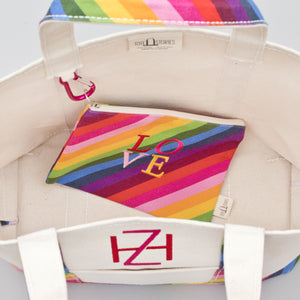 Limited Tote Bag - Rainbow - Inside