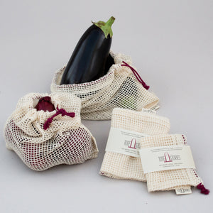 Mesh produce bag - Rioja Red