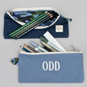 Pencil Pouch - Camo Falsterbo Ocean