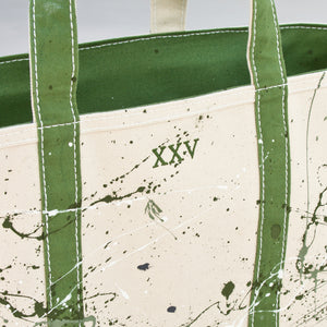 Paint Splatter Tote - Hamneda Forest - Numbered