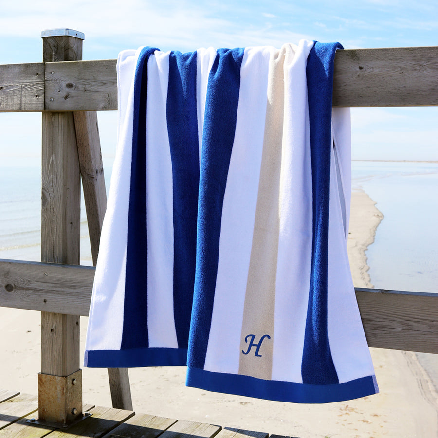 Beach & Pool Towel - Chefchaouen Blue