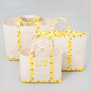 Limited Tote Bag - Bee Lisbon Yellow - Sizes