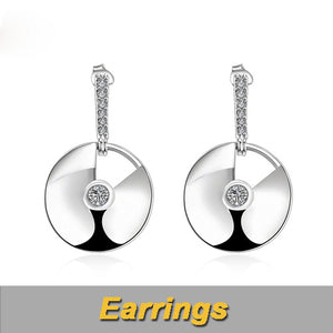 Silver earrings - Eva Victoria