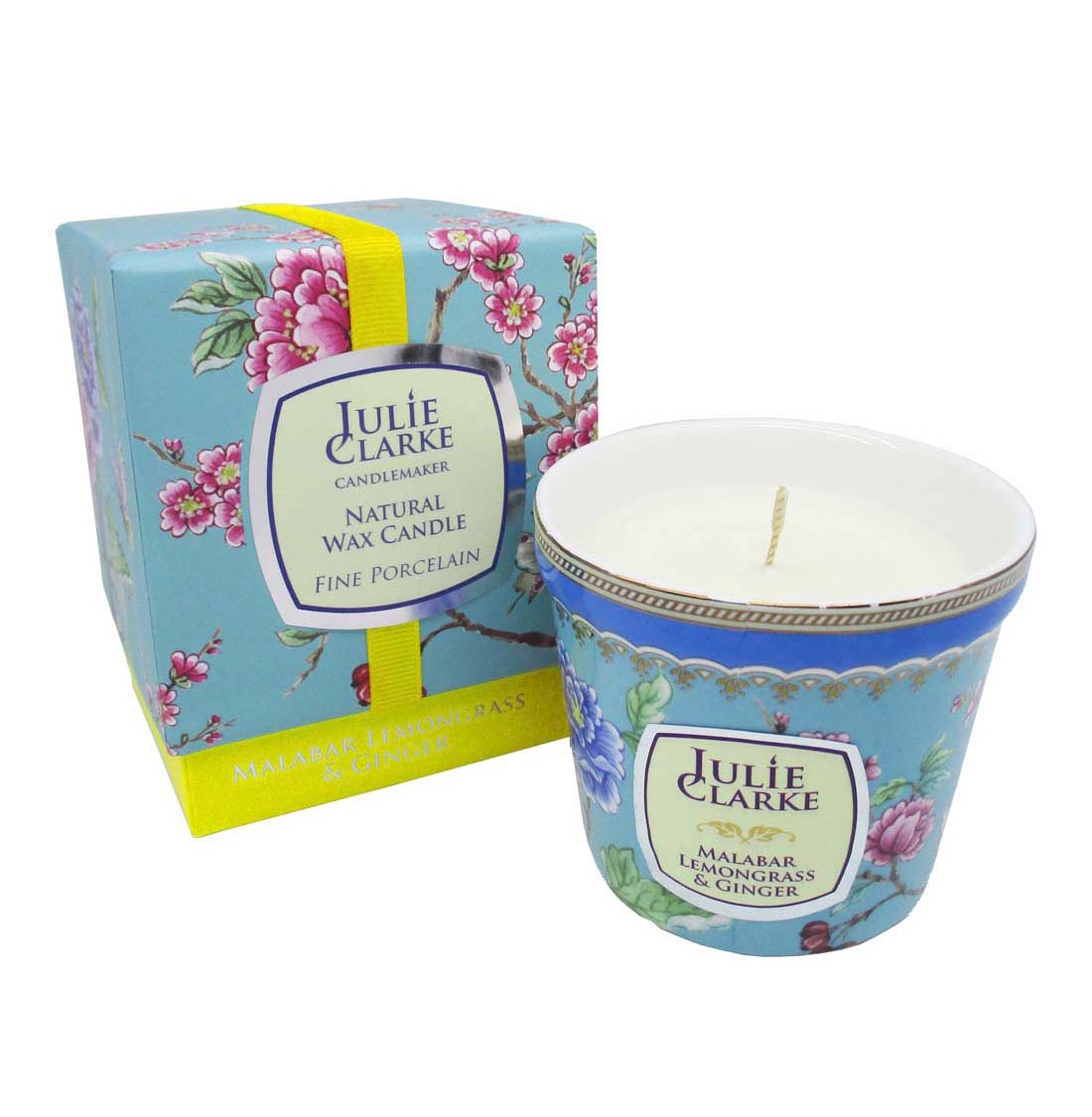Malabar Lemongrass & Ginger Botanic Candle by Julie Clarke
