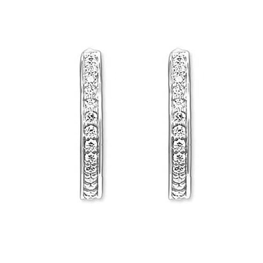 Martina Diamante Sterling Silver Earrings