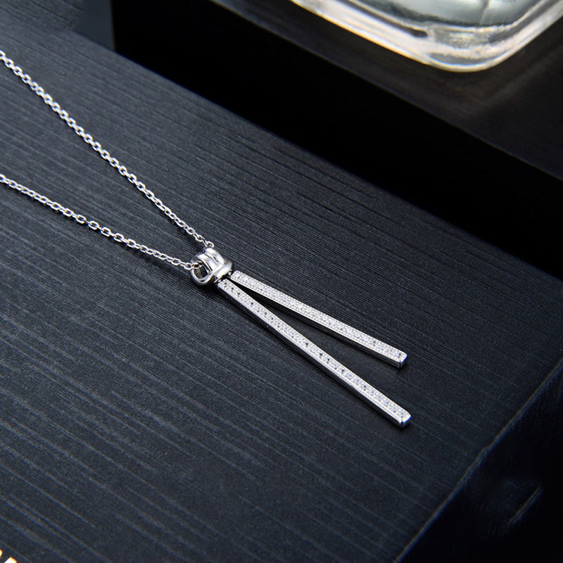 Christina Tassle Sterling Silver Necklace