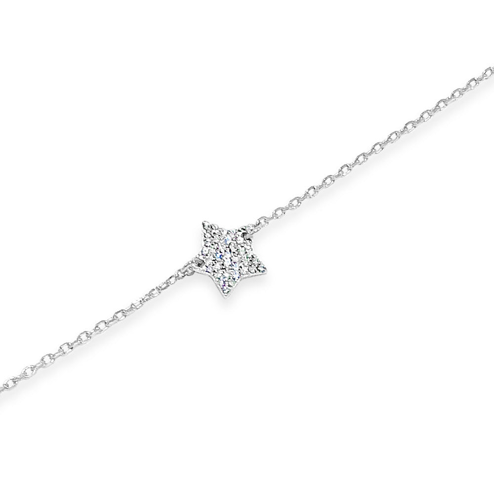 Sandra Star Children Sterling Silver Bracelet