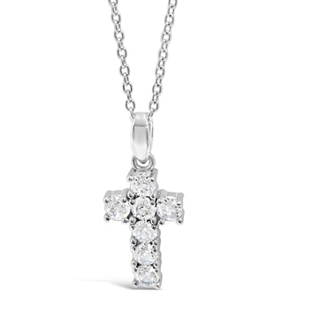 Zoe Children Sterling Silver Cross Pendant