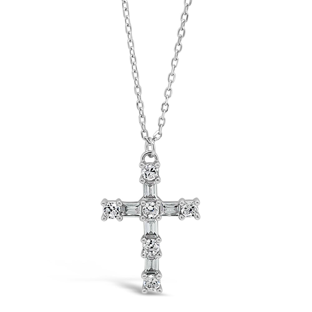 Leah Children Sterling Silver Cross Pendant