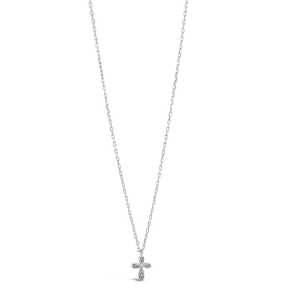 Claire Children Sterling Silver Cross Pendant