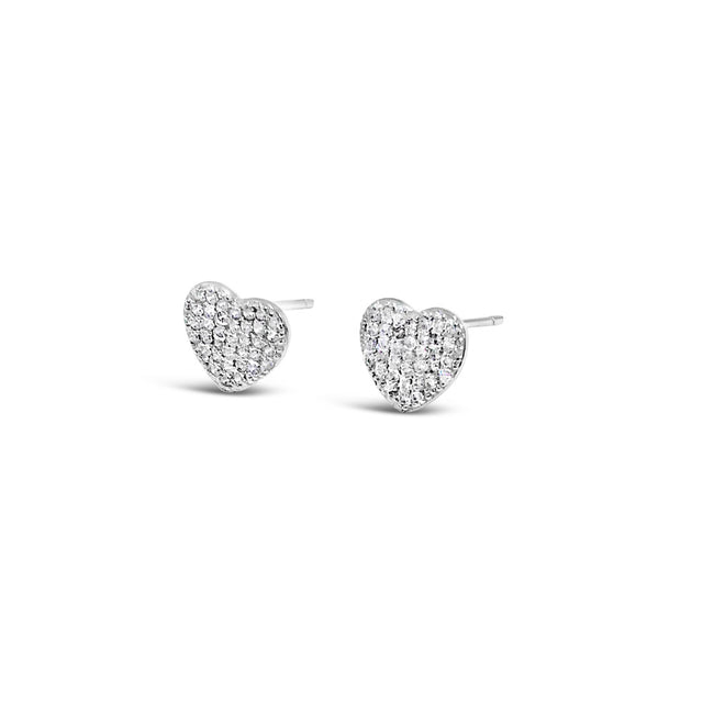 Alana Heart Children Sterling Silver Earrings - Eva Victoria