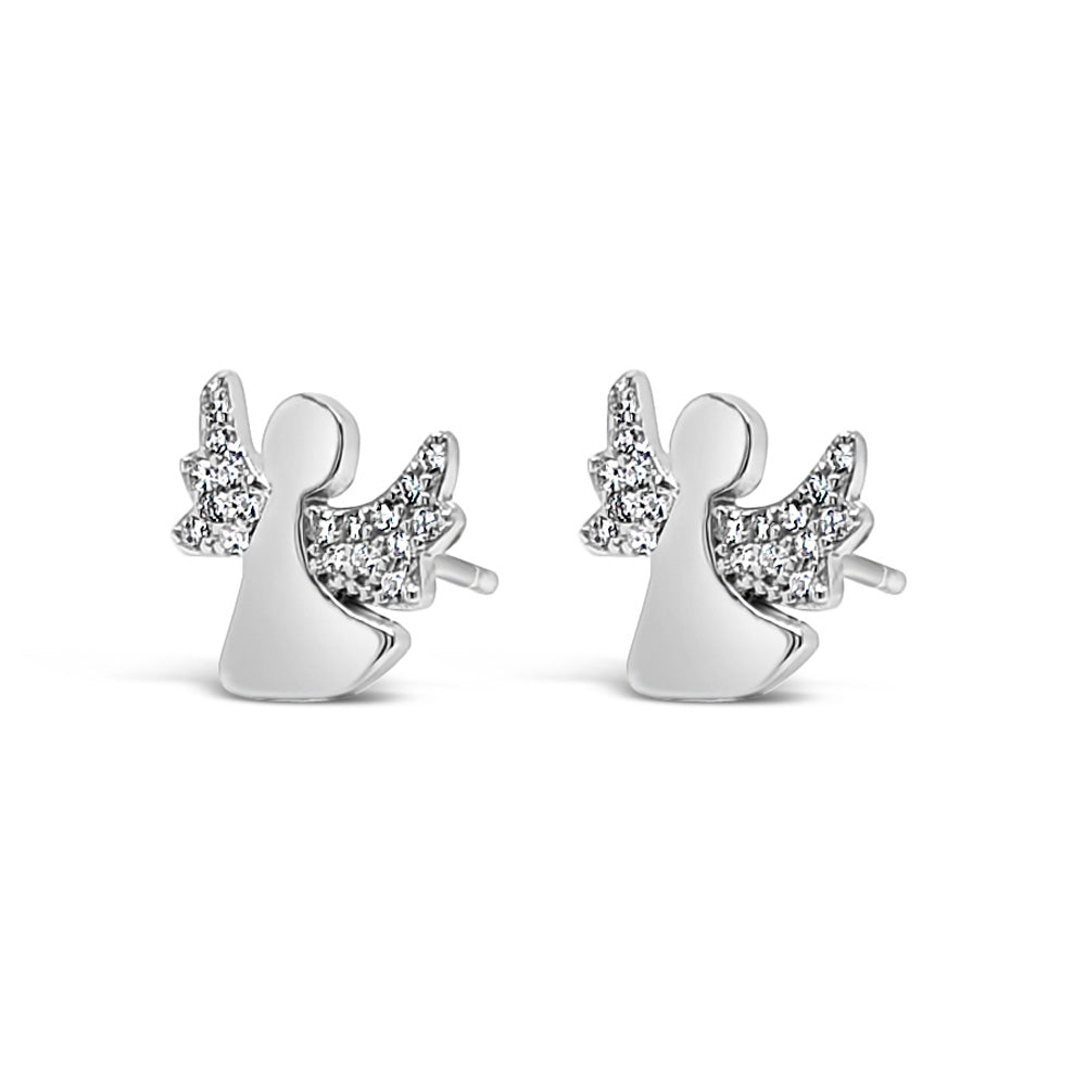 Angelica Children Sterling Silver Earrings - Eva Victoria