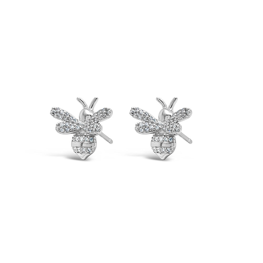 Maya Bee Children Sterling Silver Earrings