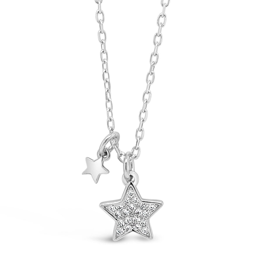 Sandra Star Children Sterling Silver Charm Pendant