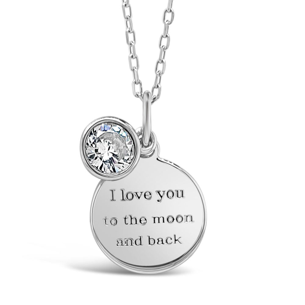 I Love You Children Sterling Silver Pendant
